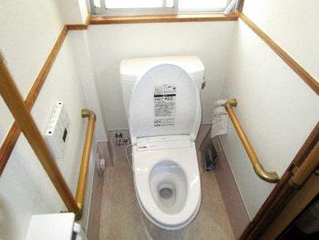 宮崎市中村S様邸 トイレ施工事例 TOTOピュアレストQR ウォシュレットTCF4731AK