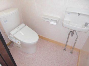 宮崎市権現町M様邸トイレ施工事例 TOTOピュアレストQRウォシュレットSB