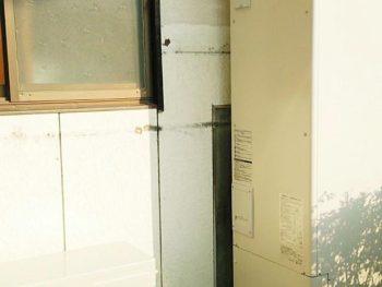 宮崎市中村西町F様邸エコキュート施工事例 長府製作所給湯専用エコキュート370L EHP-3739GPH