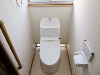 宮崎市田代町S様邸トイレ施工事例 TOTO一体型便器 GG800-3