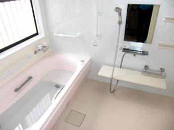 宮崎市吉村町M様邸浴室施工事例 TOTOシステムバスサザナTタイプ1620サイズ