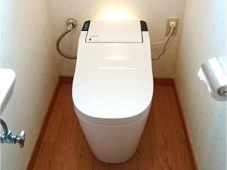 宮崎市生目台O様邸トイレ改修工事 パナソニック アラウーノ