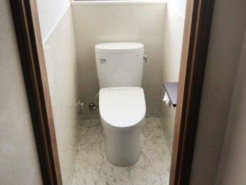 宮崎市月見ヶ丘H様 浴室トイレ施工事例 ピュアレストEXアプリコットF1A システムバスTOTOサザナ1616