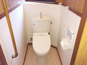 宮崎市大塚台N様邸 トイレ施工事例 TOTO ピュアレストEX トイレ