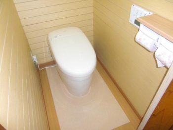 宮崎市源藤町N様邸 トイレ施工事例 TOTOタンクレスタイプ ネオレストRH1