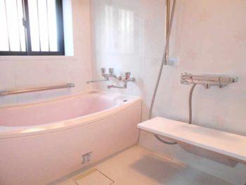 宮崎市城ヶ崎N様邸 浴室施工事例 TOTOシステムバス サザナ1220Tタイプ