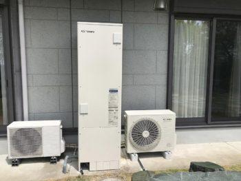 宮崎市阿波岐原町T様 電気温水器からエコキュート取替工事