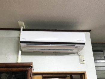 宮崎市恒久Y様邸 エアコン取替工事