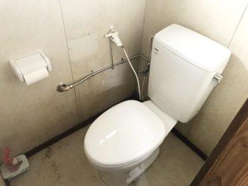 宮崎市田野町W様 簡易水洗トイレ取替工事