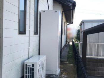 宮崎市恒久K様 石油給湯器からエコキュートへの取替施工事例