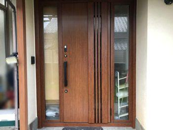 宮崎市F様 玄関ドア ワンデイリフォーム施工事例