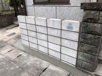 宮崎市大坪K様 ブロック塀施工事例