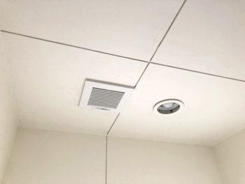 宮崎市大工G様邸 トイレ換気扇取替施工事例