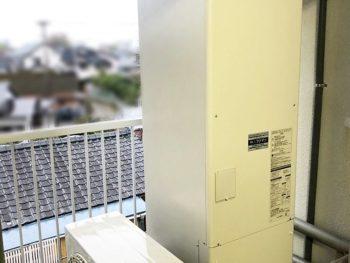 宮崎市東大宮H様 電気温水器からエコキュートへ取替 施工事例