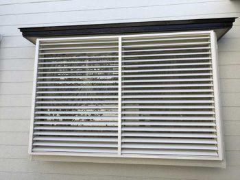 宮崎市本郷N様 多機能ルーバー窓取付 施工事例
