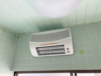 宮崎市源藤町N 浴室換気乾燥暖房機 施工事例