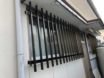 宮崎市昭和町I様 面格子(台所・浴室)取付 施工事例