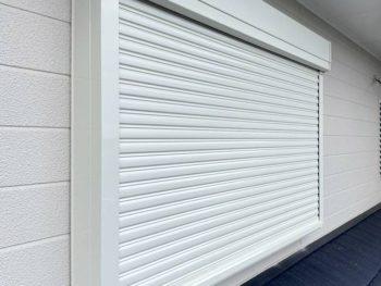 宮崎市生目台西K様 シャッター取付・面格子取付・強化ガラス交換 施工事例