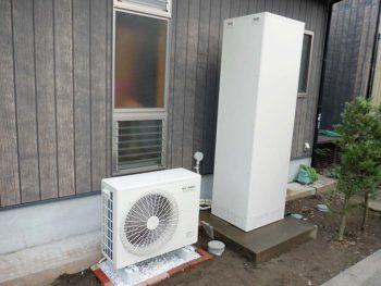 宮崎市佐土原町H様 電気温水器からエコキュート2ケ所取替 施工事例