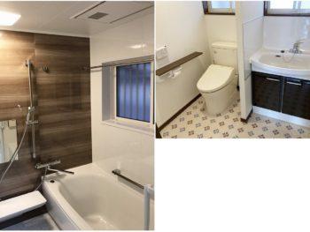 宮崎市田野町S様 浴室・トイレ・洗面化粧台 施工事例