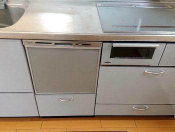 宮崎市K様 ビルトインIHクッキングヒーター&ビルトイン食洗器 取替 施工事例