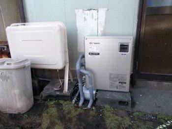 宮崎市高洲町N様 石油給湯器 IBF-3964D 施工事例
