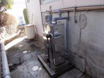 宮崎県西都市N様貸家 石油給湯器 IB-3865SG 施工事例