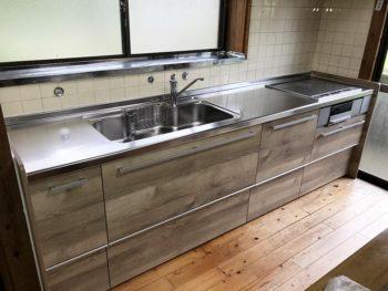 宮崎市富吉T様 クリナップ システムキッチン 施工事例