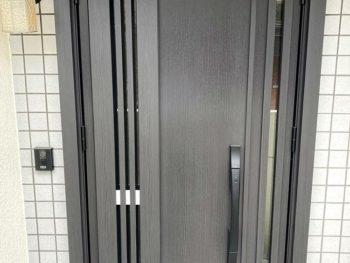 宮崎市下原町T様 玄関ドア取替 施工事例