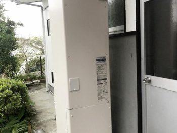 宮崎市平和が丘F様 エコキュート370L給湯専用 長府製作所EHP-3703A 施工事例