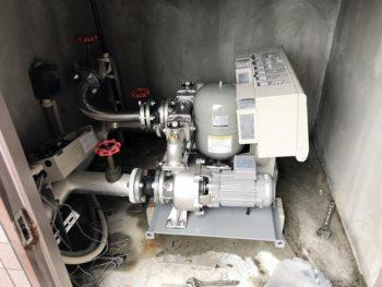 宮崎市中西町Kビル様 給水ポンプ取替 施工事例