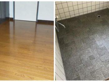 宮崎市桜ヶ丘町M様 床貼替・浴室シート貼り 施工事例