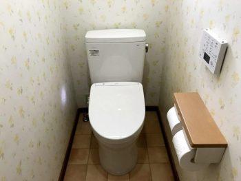 宮崎市小松台北町M様 トイレ 施工事例