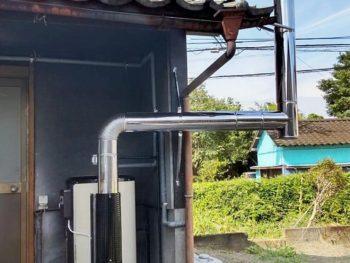 宮崎市島之内M様 石油給湯器 長府製作所 LHG-4010S 施工事例